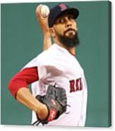 Tampa Bay Rays V Boston Red Sox 5 Canvas Print