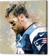 Tom Brady.new England Patriots. Canvas Print