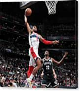 Washington Wizards V Brooklyn Nets Canvas Print
