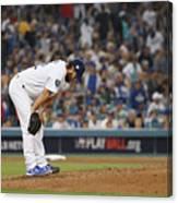 World Series - Boston Red Sox V Los 5 Canvas Print
