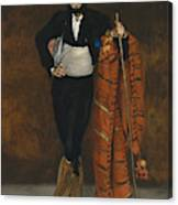 Young Man In The Costume Of A Majo  Canvas Print