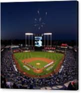 Alcs - Baltimore Orioles V Kansas City Canvas Print