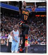 Atlanta Hawks V Sacramento Kings Canvas Print