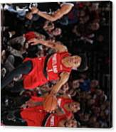Brooklyn Nets V Portland Trail Blazers Canvas Print