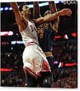 Cleveland Cavaliers V Chicago Bulls - Canvas Print