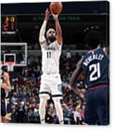 La Clippers V Memphis Grizzlies Canvas Print
