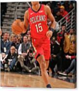 La Clippers V New Orleans Pelicans Canvas Print