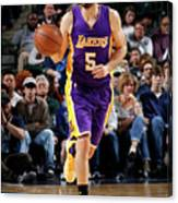 Los Angeles Lakers V Dallas Mavericks Canvas Print