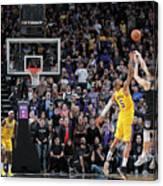 Los Angeles Lakers V Sacramento Kings Canvas Print