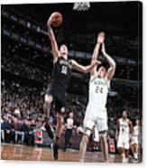 Milwaukee Bucks V Brooklyn Nets Canvas Print
