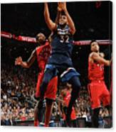 Minnesota Timberwolves V Toronto Raptors Canvas Print