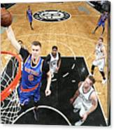 New York Knicks V Brooklyn Nets Canvas Print