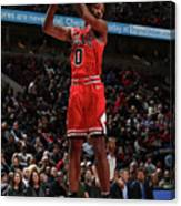New York Knicks V Chicago Bulls Canvas Print