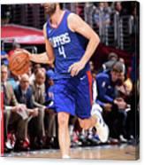 New York Knicks V La Clippers Canvas Print