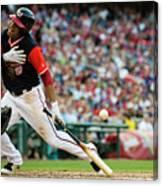 New York Mets V Washington Nationals Canvas Print