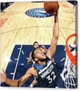 Oklahoma City Thunder V Minnesota Canvas Print
