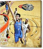 Oklahoma City Thunder V New Orleans Canvas Print