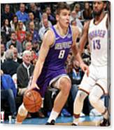 Sacramento Kings V Oklahoma City Thunder Canvas Print