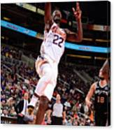 San Antonio Spurs V Phoenix Suns Canvas Print