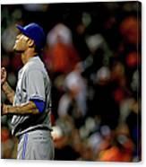 Toronto Blue Jays V Baltimore Orioles 6 Canvas Print