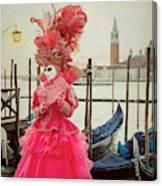 Venice Carnival 2019 6 Canvas Print