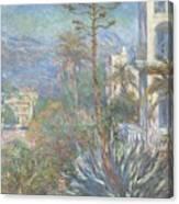Villas At Bordighera  Canvas Print
