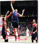 Washington Wizards V Atlanta Hawks - Canvas Print