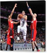 Washington Wizards V Philadelphia 76ers Canvas Print