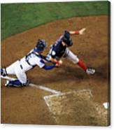World Series - Boston Red Sox V Los 6 Canvas Print