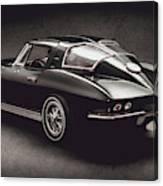 63 Chevrolet Corvette Stingray Canvas Print