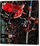 Brooklyn Nets V Chicago Bulls Canvas Print