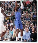Charlotte Hornets V Dallas Mavericks Canvas Print