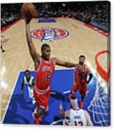 Chicago Bulls V Detroit Pistons Canvas Print