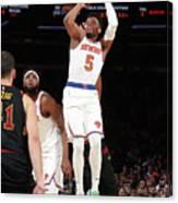 Cleveland Cavaliers V New York Knicks Canvas Print