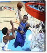 Dallas Mavericks V Oklahoma City Thunder Canvas Print
