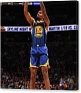 Golden State Warriors V Denver Nuggets Canvas Print
