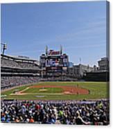 Kansas City Royals V Detroit Tigers Canvas Print