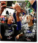 League Championship Series - Los 7 Canvas Print