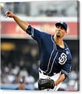 Los Angeles Dodgers V San Diego Padres 7 Canvas Print