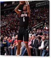 Miami Heat V Houston Rockets Canvas Print