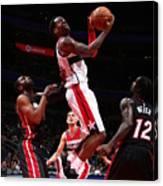 Miami Heat V Washington Wizards Canvas Print