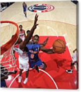New York Knicks V Washington Wizards Canvas Print