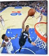 Philadelphia 76ers V Orlando Magic Canvas Print