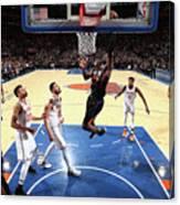 Phoenix Suns V New York Knicks Canvas Print