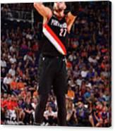 Portland Trail Blazers V Phoenix Suns Canvas Print