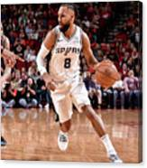 San Antonio Spurs V Houston Rockets Canvas Print