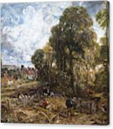 Stoke-by-nayland Canvas Print