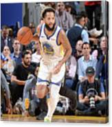 Utah Jazz V Golden State Warriors Canvas Print
