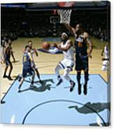 Utah Jazz V Memphis Grizzlies Canvas Print