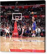 Washington Wizards V La Clippers Canvas Print